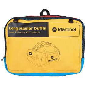 Marmot Long Hauler Duffel Largo, amarillo/rojo
